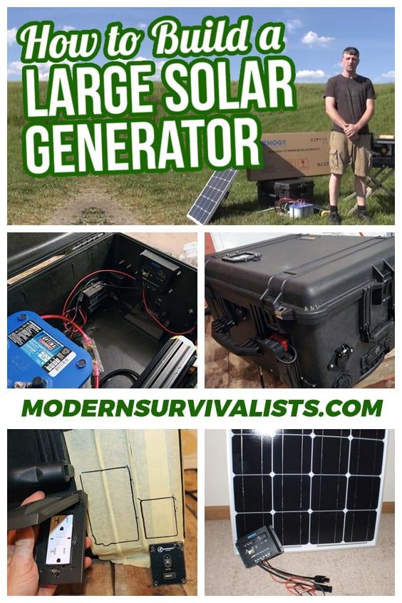 How To Build A Solar Generator (3,000 Watt) - Part 1 - Modern