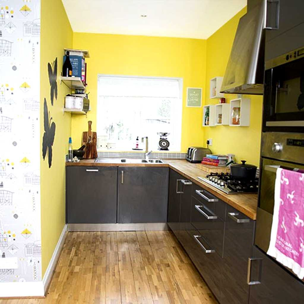 Kitchen Design Yellow Cabinets 25 Modern Small Kitchen Design Ideas