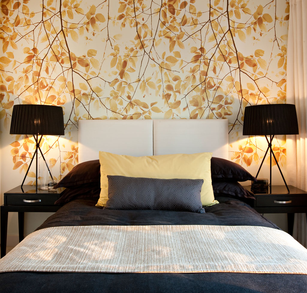 Wallpaper Bedrooms Designs 20 Awesome Wallpaper Designs For Bedroom