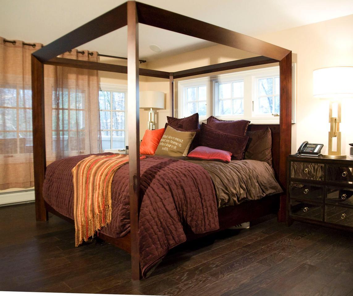 Bedroom Floor Cold 15 Master Bedrooms With Hardwood Flooring