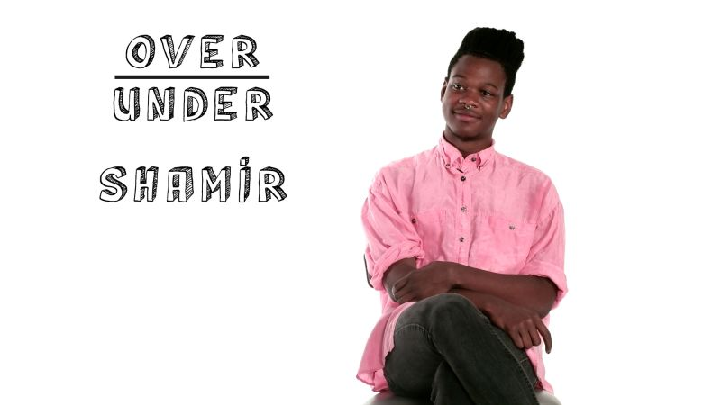 Shamir Rates Mandy Moore, Keanu Reeves, and Devil Worship Over
