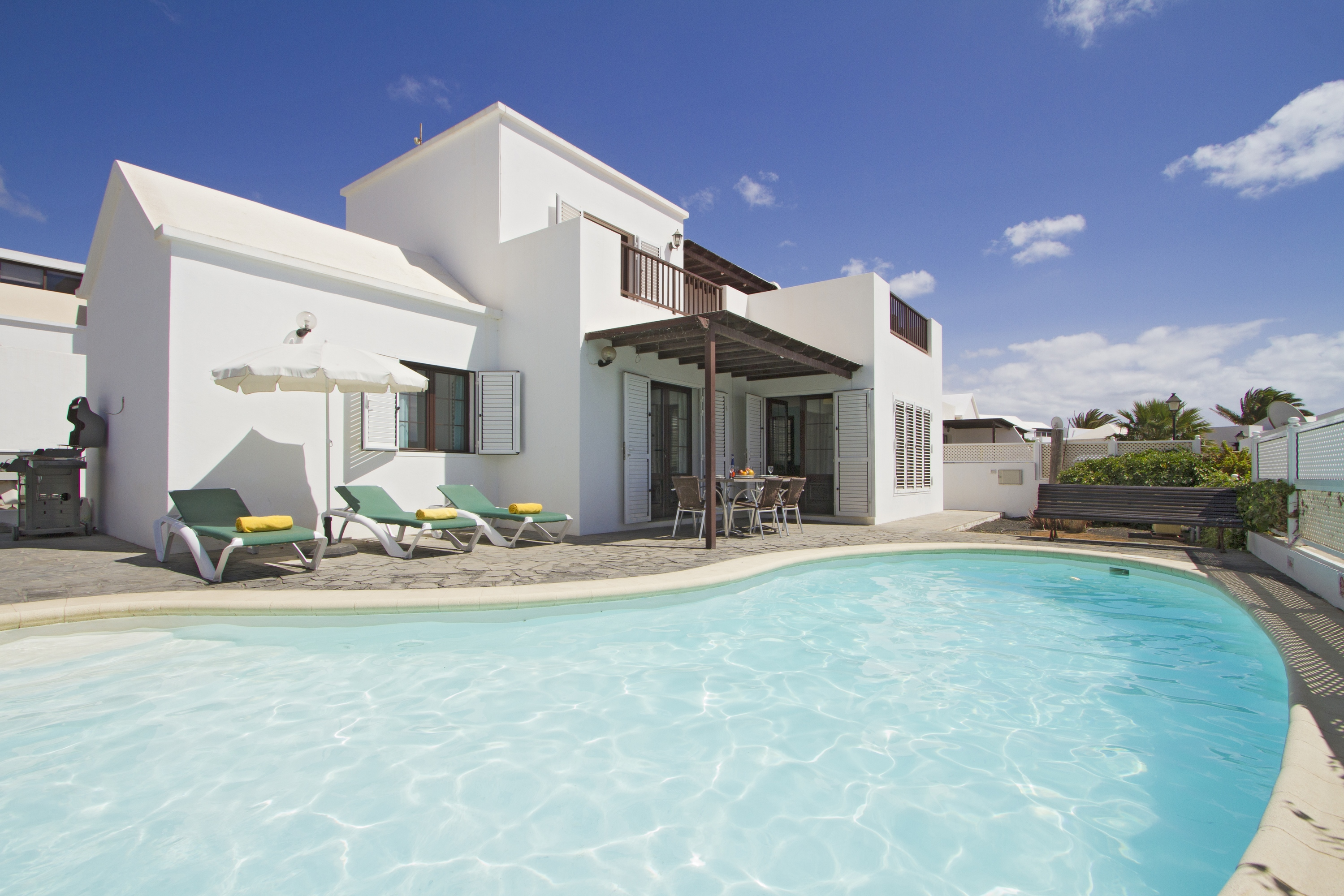 Ferienhaus Mit Pool Lanzarote Mariana Detached 4 Bed Villa With Pool Table