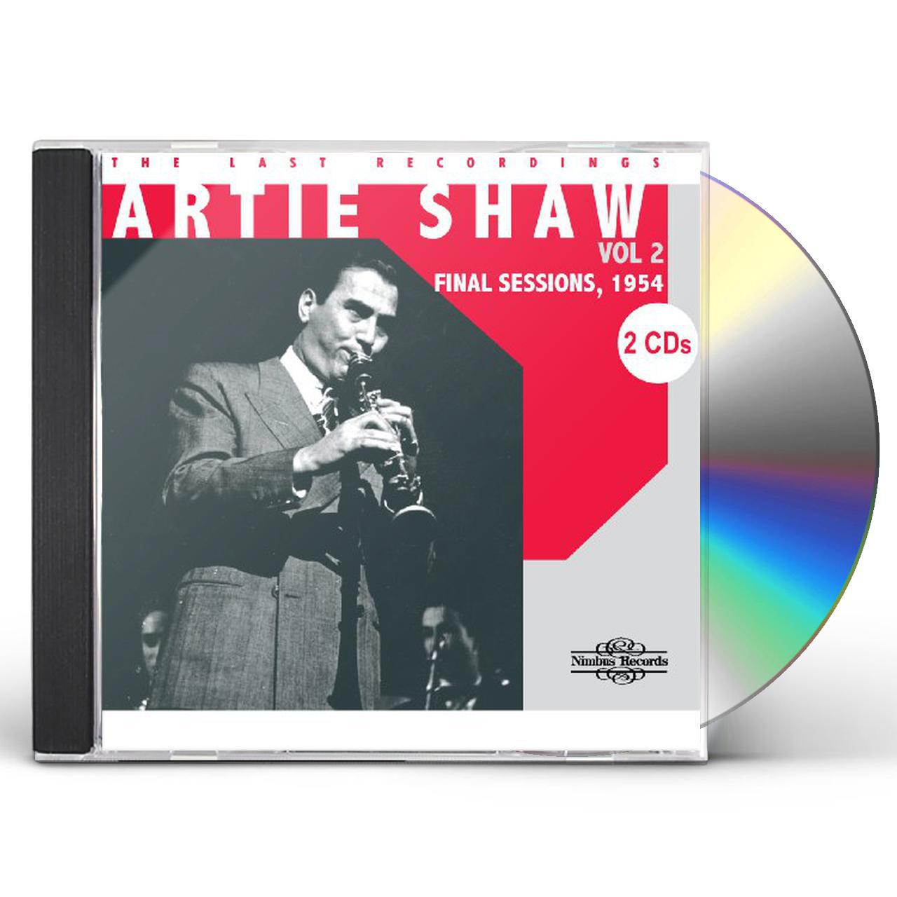 Artie Shaw Genre Artie Shaw Last Recordings 2 Final Sessions 1954 Cd