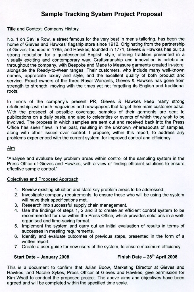 Guidelines for Thesis Writing - Graduate College - University of - project proposal example