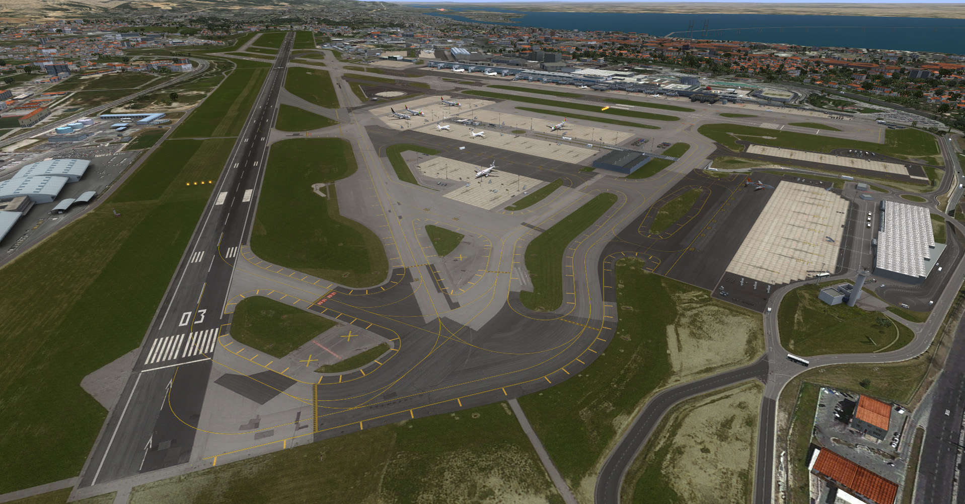 Avsim Library Just Flight Mega Airport Lisbon V2