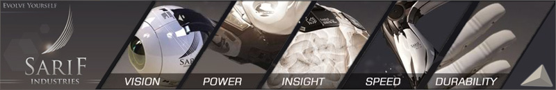 Deus Ex Human Revolution Quotes Wallpaper The Gallery For Gt Sarif Industries Augmentation
