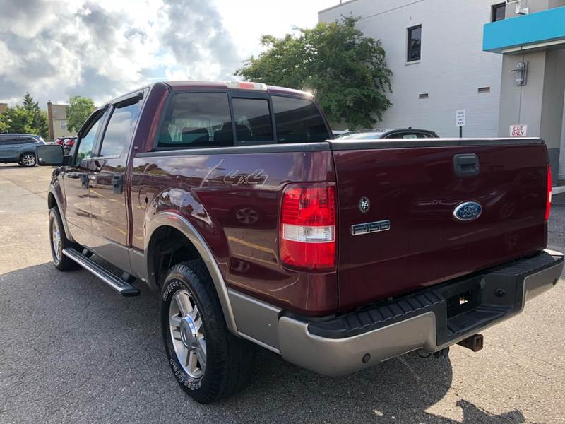 2006 Ford F-150 Lariat 4dr SuperCrew 4WD Styleside 55 ft SB In