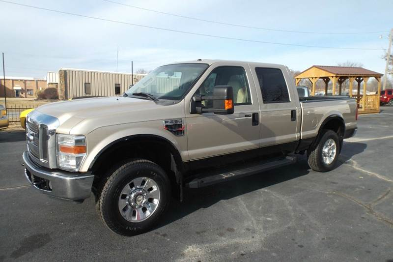 2008 Ford F-250 Super Duty Lariat 4dr Crew Cab 4WD SB In Chanute KS