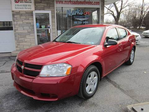 Dodge Avenger For Sale in Nazareth, PA - Marks Automotive Inc