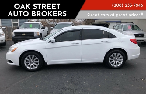 Chrysler 200 For Sale in Pocatello, ID - Oak Street Auto Brokers