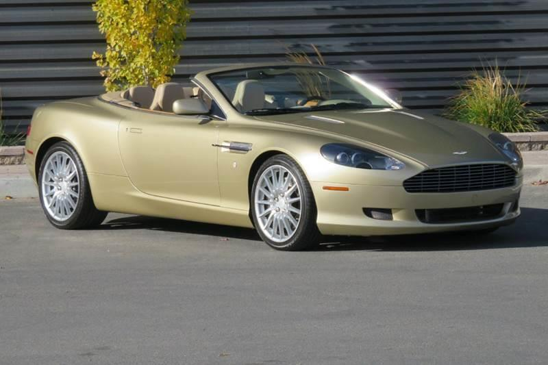 2006 Aston Martin Db9 Volante 2dr Convertible w/Automatic In Hailey