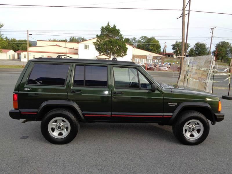 1996 Jeep Cherokee Sport 4dr 4wd Suv In Strasburg Va