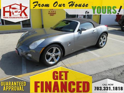 Pontiac Solstice For Sale in Virginia - Carsforsale®