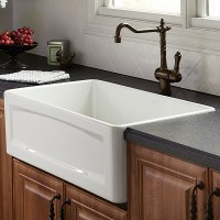 Kitchen Farm Sink - Hillside 30 inch wide Apron Kitchen ...
