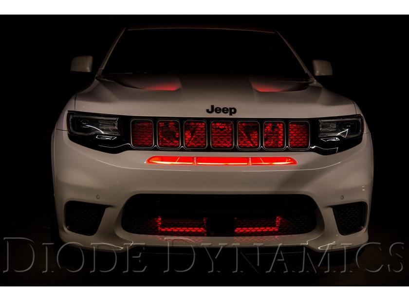 Jeep Grand Cherokee Trackhawk LED Lighting Upgrades Diode Dynamics