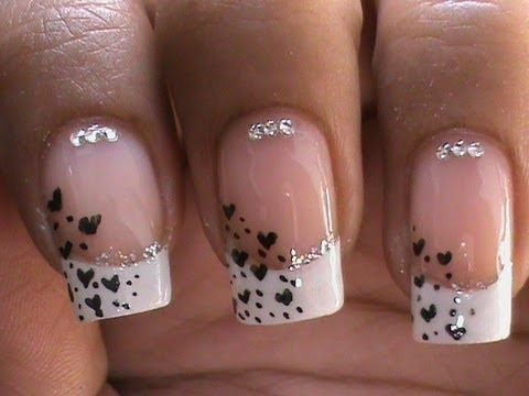 French Manicure Nail Art Designs How To With Nail Designs