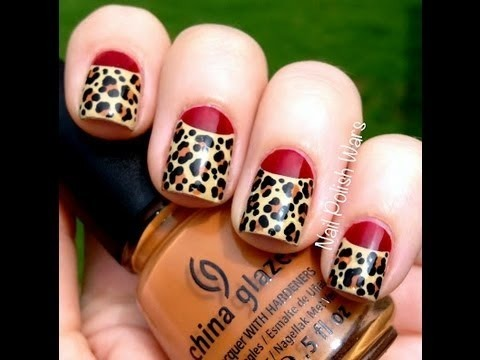 Amazing Leopard Nails Art Designs Leopard Nail Designs For Beginners