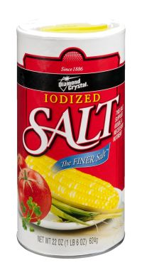 Buy Diamond Crystal Salt, Iodized - 22 Ounces Online | Mercato