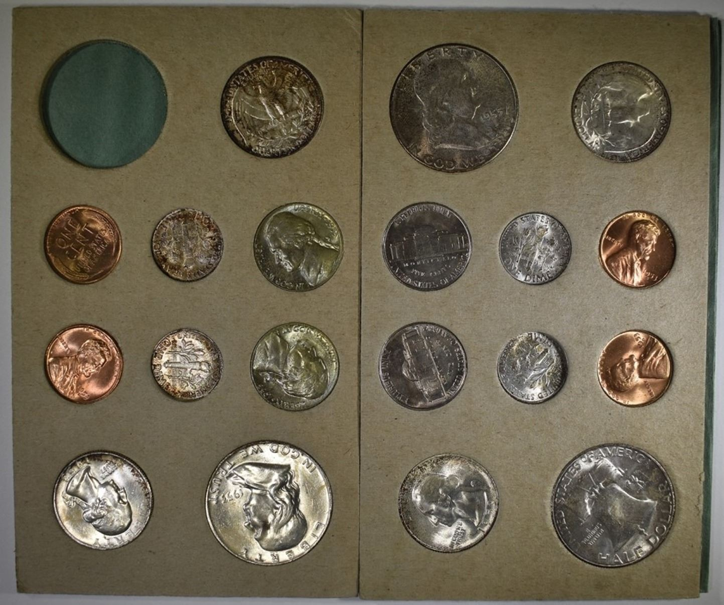 Mint Set 1953 D S Partial Mint Set Original Silver City Auctions