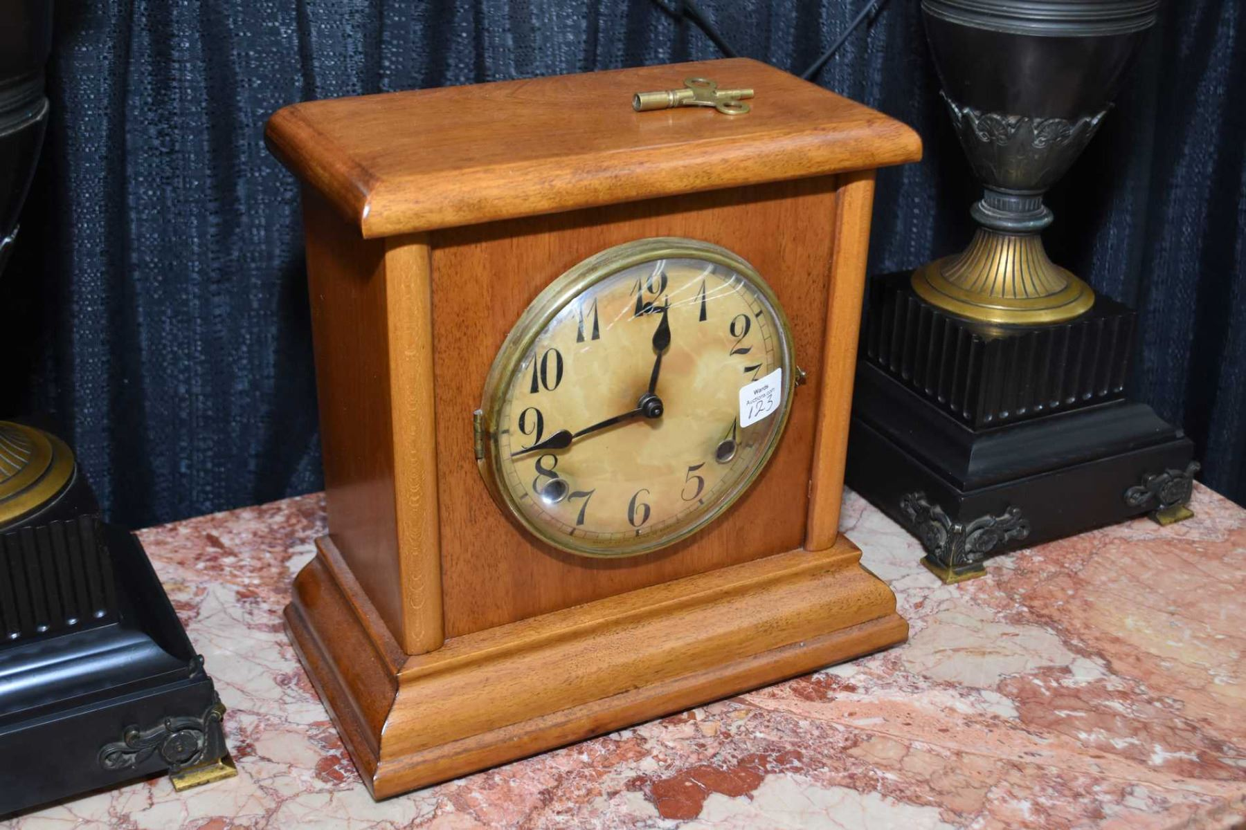American Made Alarm Clock American Made Chiming Mantle Clock Working At Time Of Cataloguing