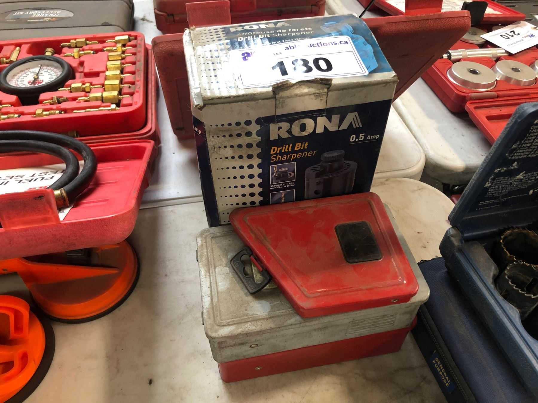 Rona Moving Boxes Rona Bit Sharpener Assorted Drill Bits