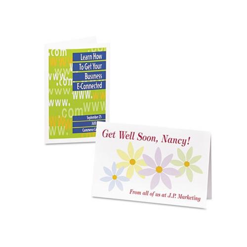 Avery Half, Inkjet, 5 1/2 x 8 1/2, Matte White, 20/Box w/Envelopes