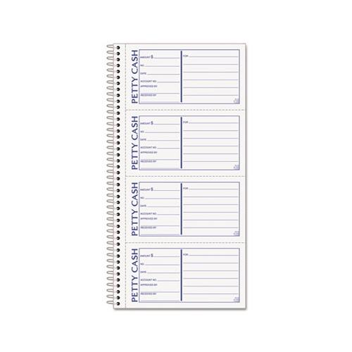 Tops Petty Cash Receipt Book - TOP4109 - Shoplet - petty cash receipt book