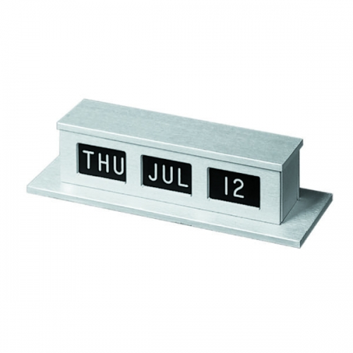 MMF Industries CALENDER SELFSTORE 1 FACE SILVER FINISH, MMF
