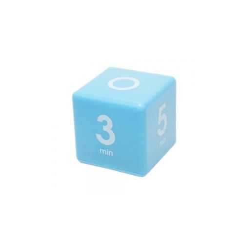 Datexx Cube Timer 1, 3, 5, 7 minute preset timer, Blue, Smart pre