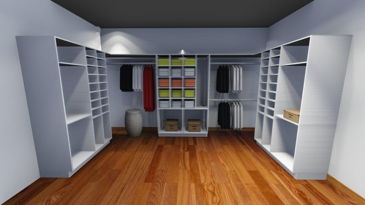 Fabriquer Un Dressing Dans Une Chambre New Construire son Armoire ...