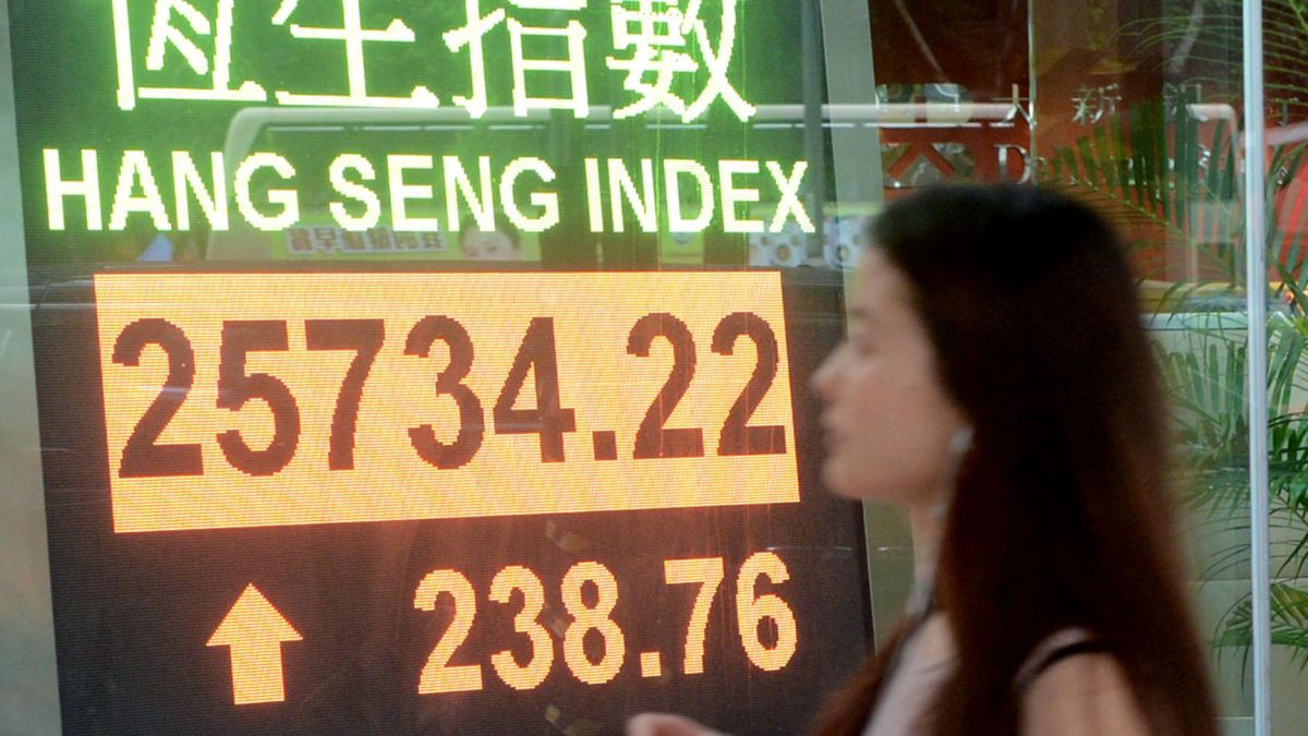 Asian Stock Markets Live Update Hong Kong Stocks Gain Nearly 4 On Best Day Of The Year