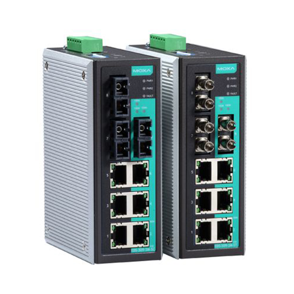 Moxa Switch Eds 309 Series Ethernet Switches Manufacturer Mumbai India