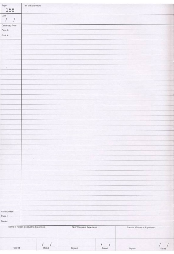 208 page Lined Notebook - lined page