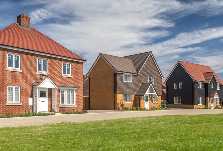 Barratt Homes at Kingsbrook in Broughton is built by Barratt Homes - new blueprint centre aylesbury