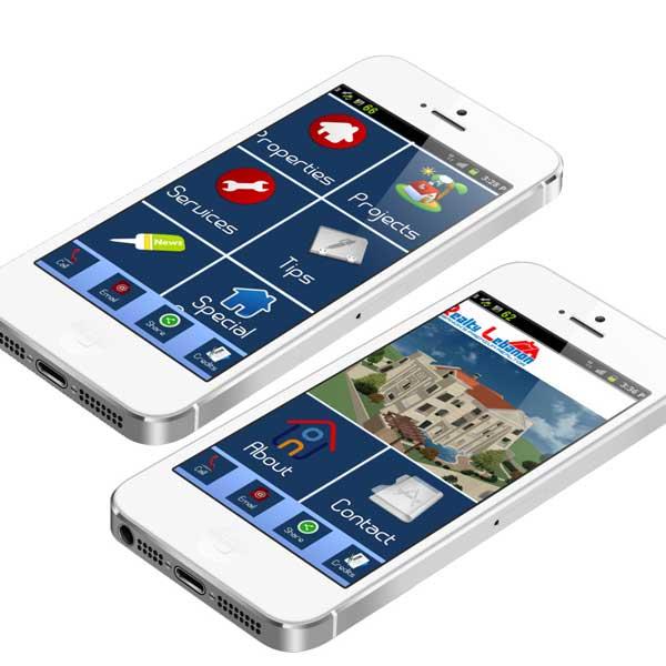 rreal estate mobile app development