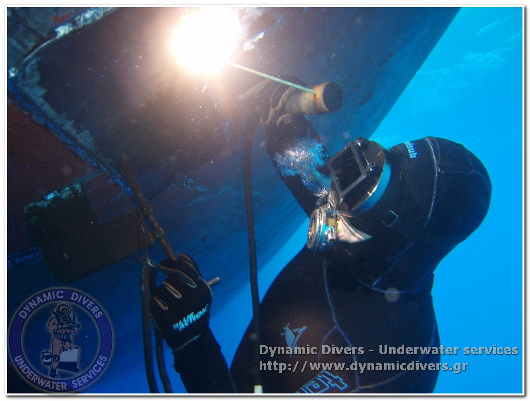Bureau Google Underwater Welding & Cutting | Dynamic Divers - Underwater