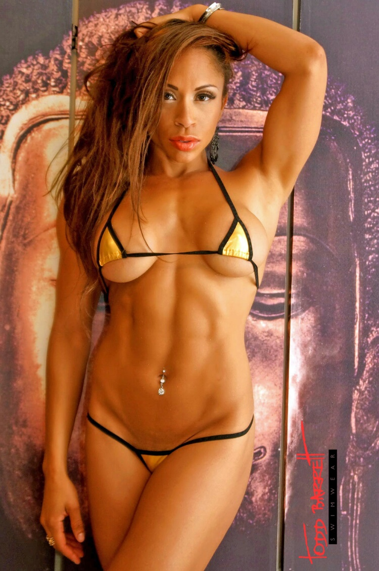 Swimsuit Girl Wallpaper Interview With Figure Competitor Capucine Leconte