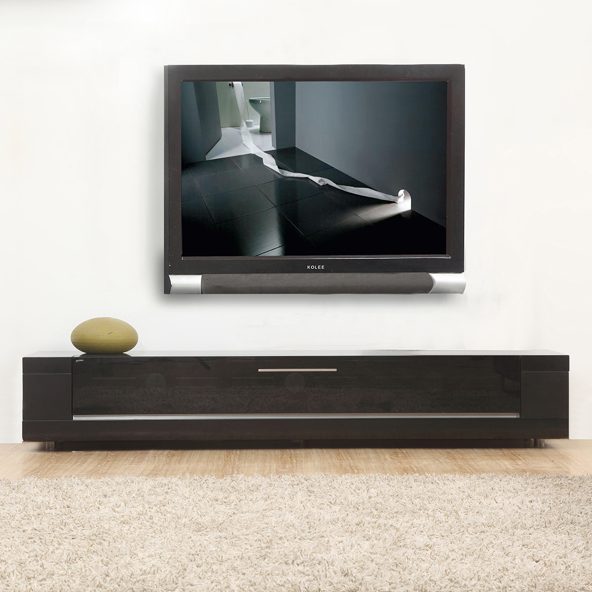 Contemporary Tv Stands B Modern Bm 632 Blk Editor Remix 79 Quot Contemporary Tv Stand