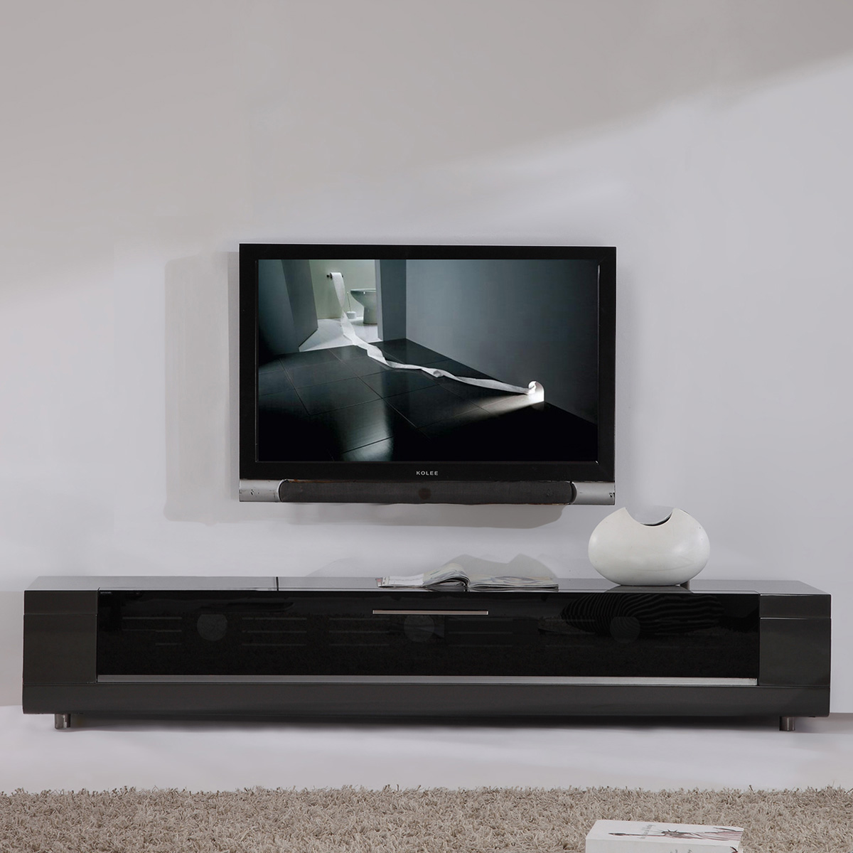 Modern Tv Base B Modern Bm 632 Gry Editor Remix 79 Quot Contemporary Tv Stand