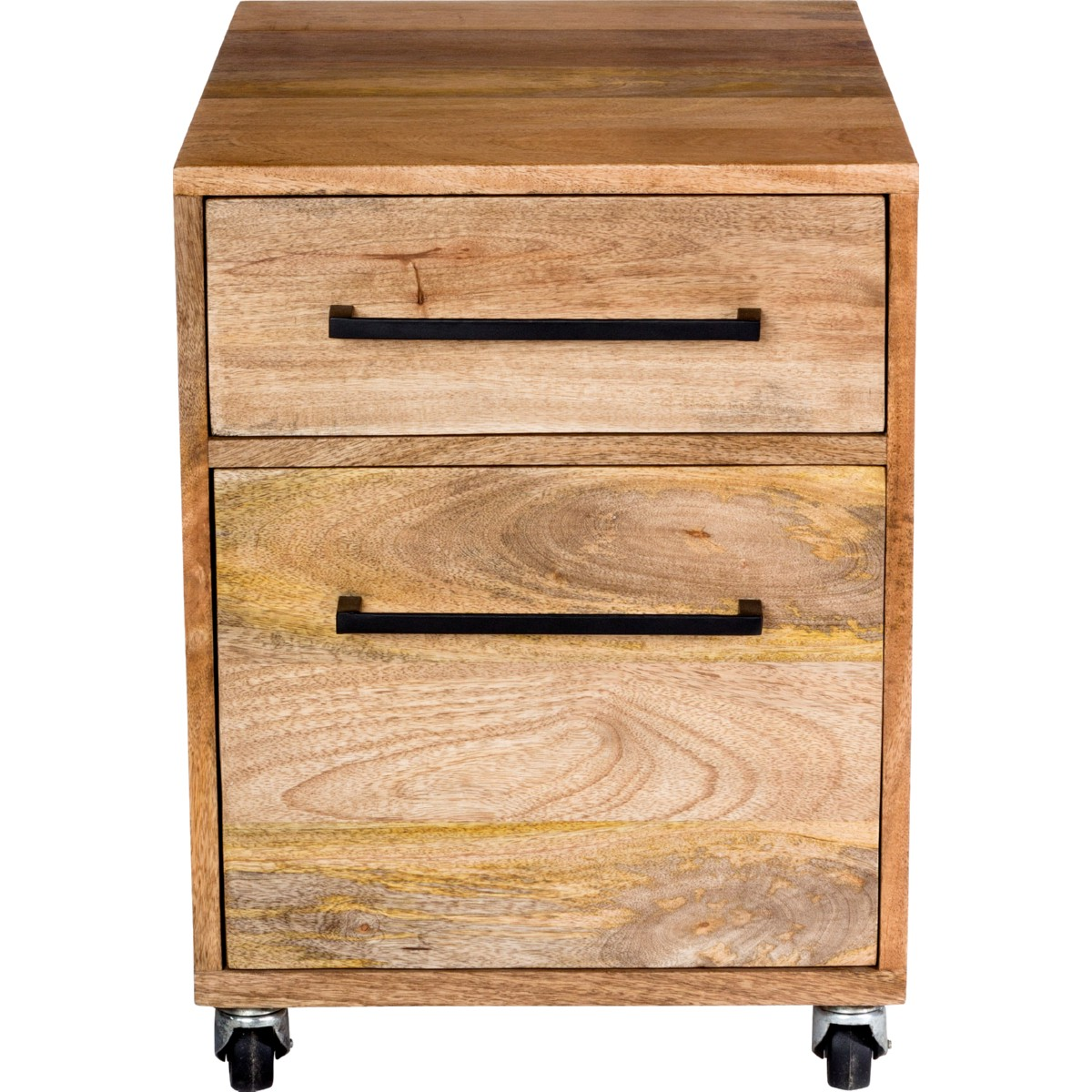 Solid Wood File Cabinet Moe S Home Collection Sr 1031 24 Colvin Mobile File Cabinet Solid Mango Wood Iron Base