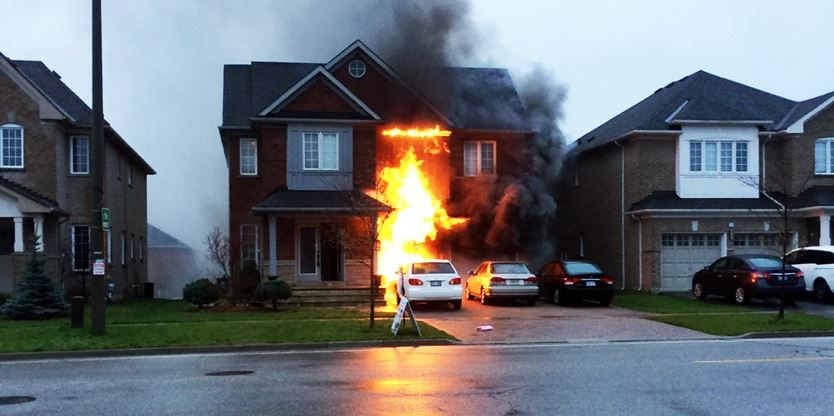 3 People Escape Richmond Hill House Fire Safely Thanks To