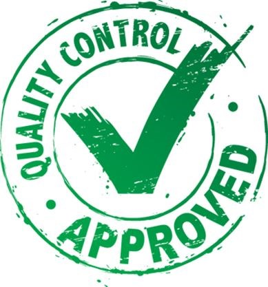 Quality control procedures are essential to quality products