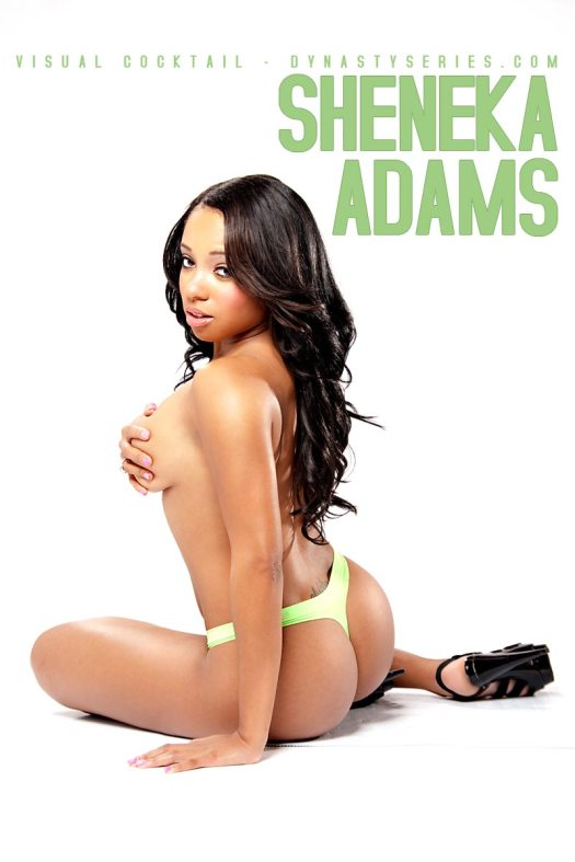 More of Sheneka Adams: Already Famous - courtesy of Visual Cocktail