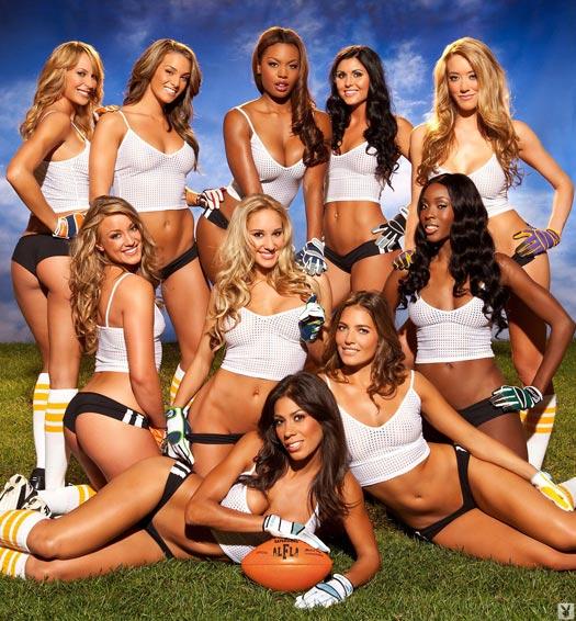 Lingerie Football League x Playboy - on DSAfterDark.com