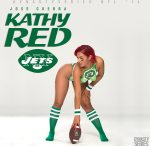 More of Kathy Red @KathyRed_: NFL Bodypaint 2014 – NY Jets – Jose Guerra