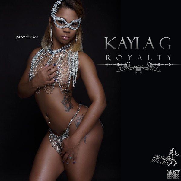 Kayla G @KaylaG_: Royalty - Prive Studios and Model Modele
