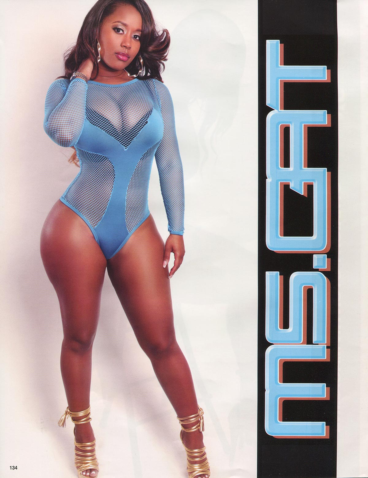 Cat Washington @mscat215 in Straight Stuntin Issue 34