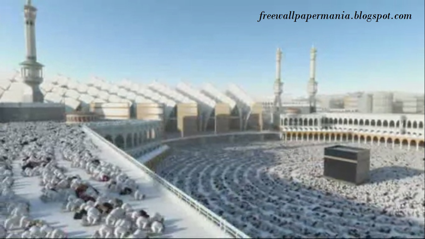 Madina Wallpaper 3d Kaba Mecca 2020 Expansion Project Model Picture Wallpapers