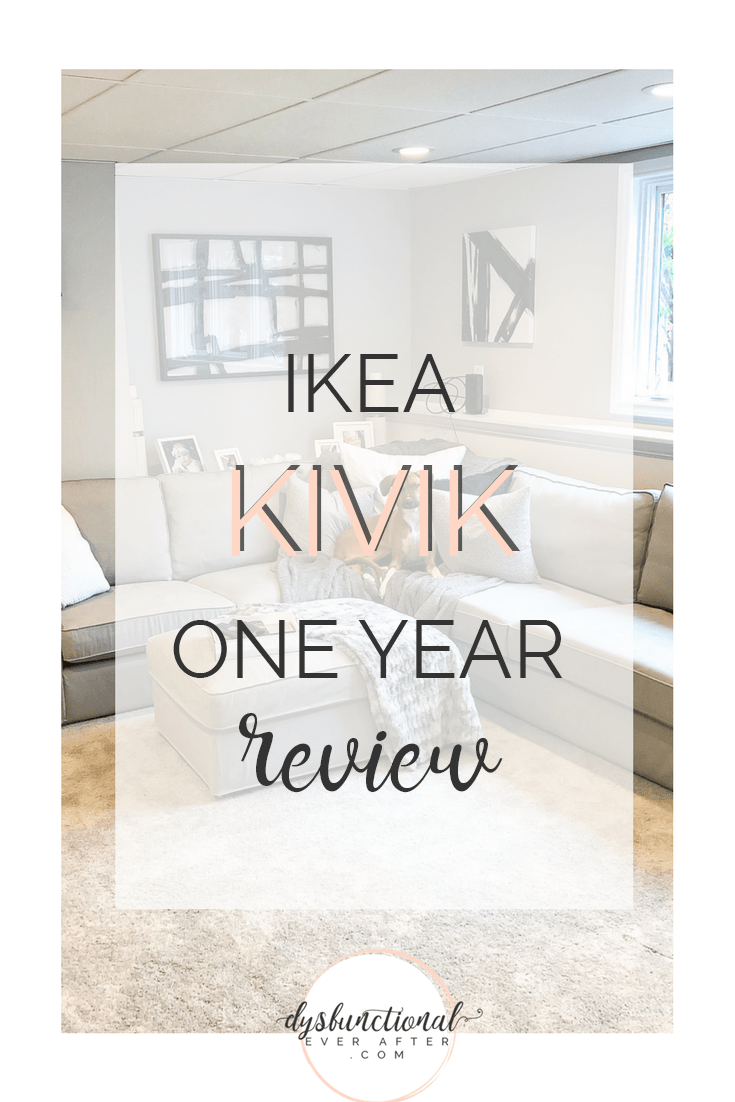 Kivik Sectional Ikea Kivik One Year Review Dysfunctional Ever After