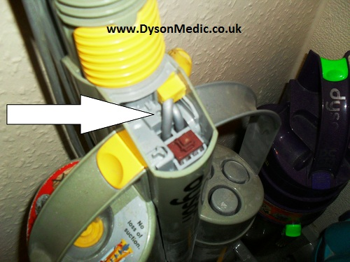 Dyson DC03 Switch Removal and Cable Replacement